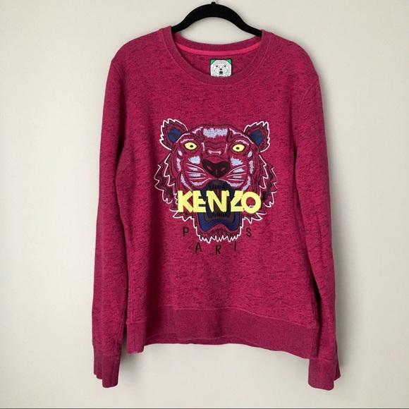 05fdc0393 Kenzo Sweaters | Jungle Tiger Logo Embroidered Sweater | Poshmark